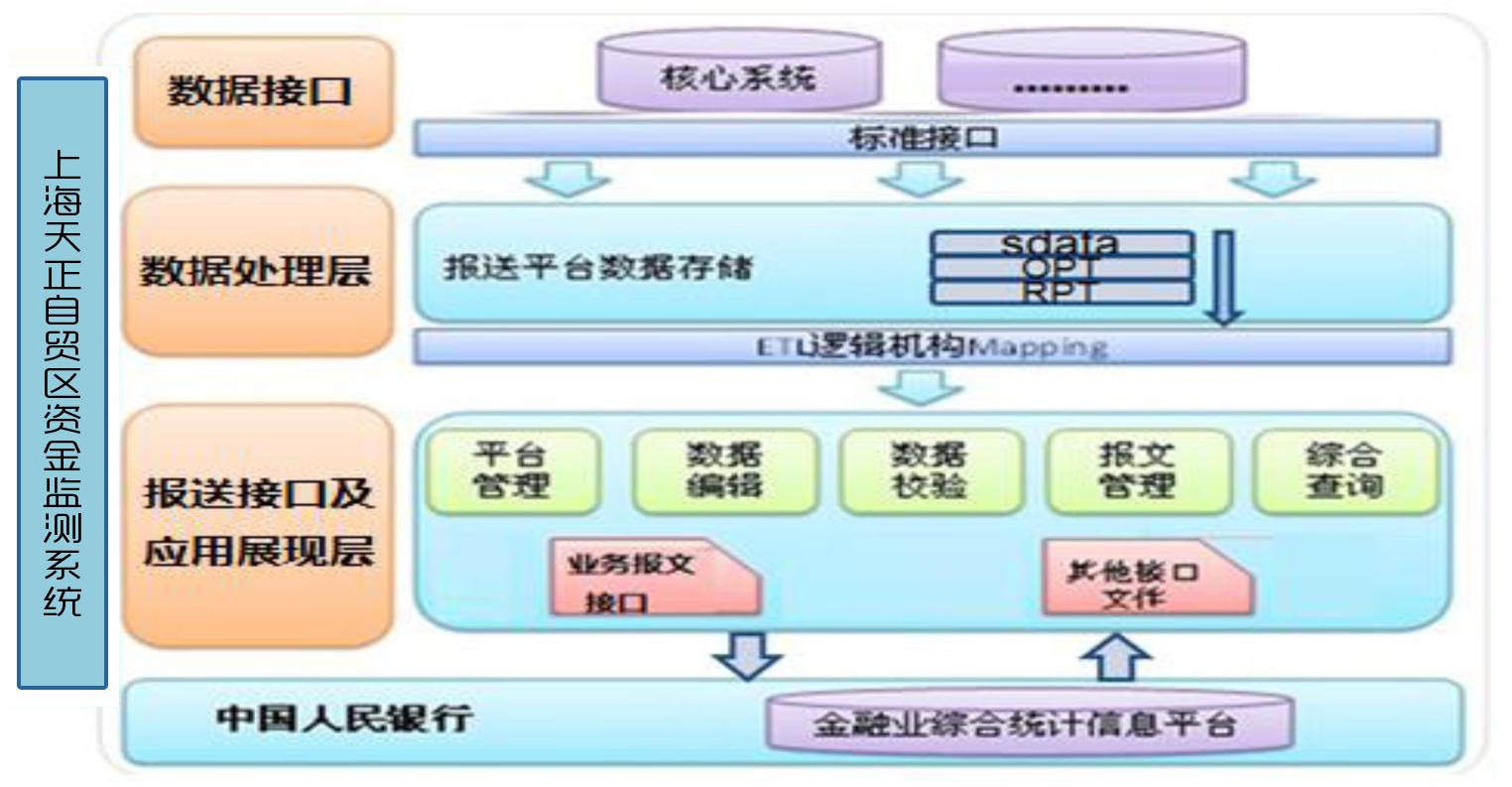 金融公司架构图模板